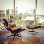 Eames Chair and Ottoman Refinished by New Life Service Company of Dallas at www.newlifeservice.net