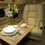 Aviation Interior Refinished by New Life Service Company of Dallas at www.newlifeservice.net