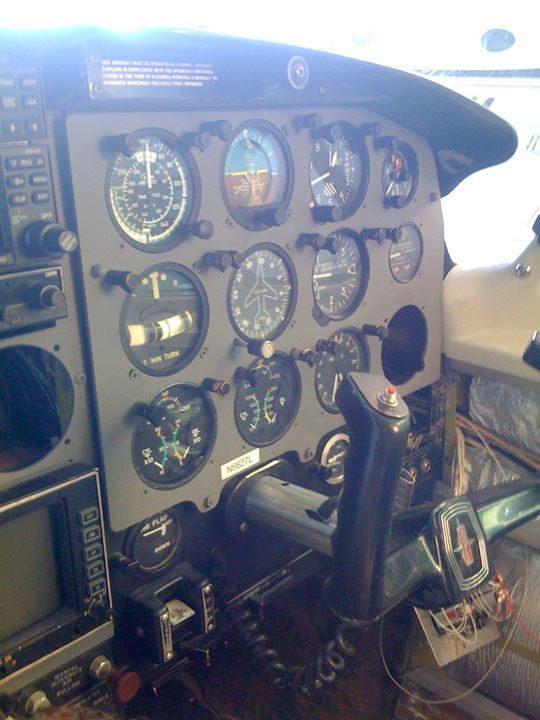Cockpit After Repair by New Life Service Company of Dallas at www.newlifeservice.net