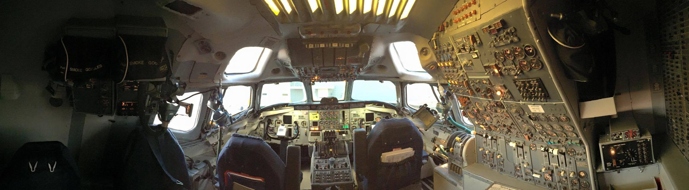 DC8 Aircraft Interior Repair by New Life Service Company of Dallas at www.newlifeservice.net