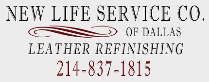 New Life Service Co. of Dallas: Leather Repair and Refinishing, Vinyl and Plastic Repair and Refinishing…214-837-1815